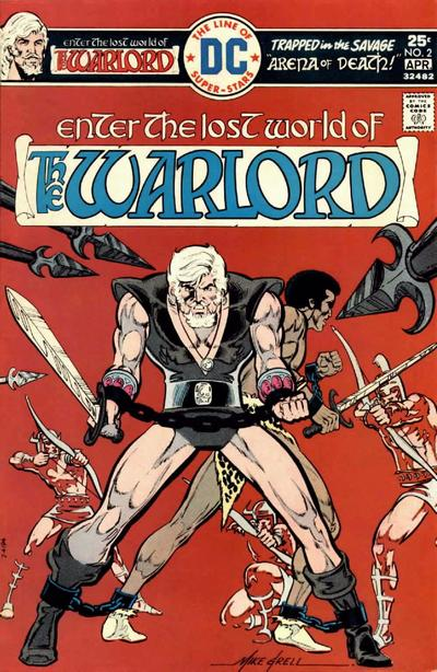 Cover for Warlord (DC, 1976 series) #2