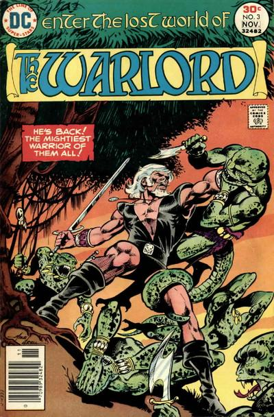 Cover for Warlord (DC, 1976 series) #3