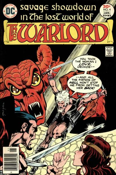 Cover for Warlord (DC, 1976 series) #4