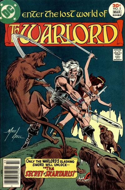 Cover for Warlord (DC, 1976 series) #5