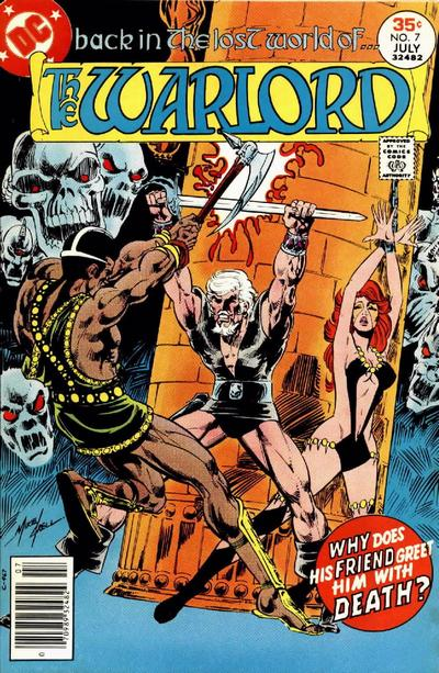 Cover for Warlord (DC, 1976 series) #7