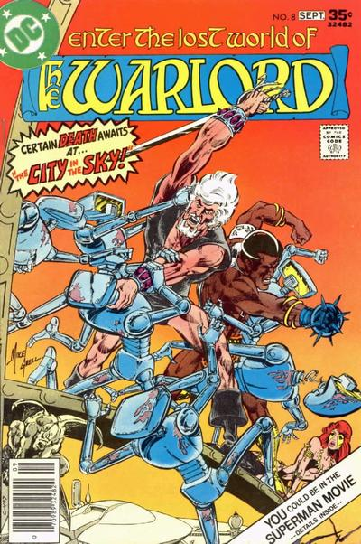 Cover for Warlord (DC, 1976 series) #8