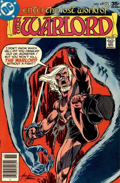 Cover for Warlord (DC, 1976 series) #9