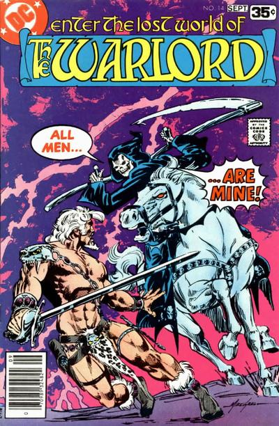 Cover for Warlord (DC, 1976 series) #14