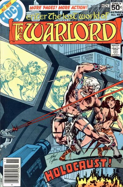 Cover for Warlord (DC, 1976 series) #15
