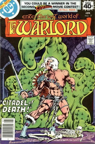 Cover for Warlord (DC, 1976 series) #17