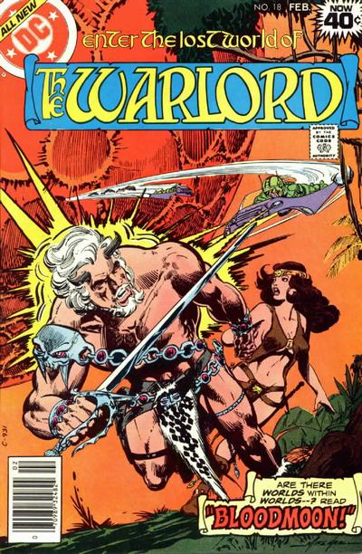 Cover for Warlord (DC, 1976 series) #18