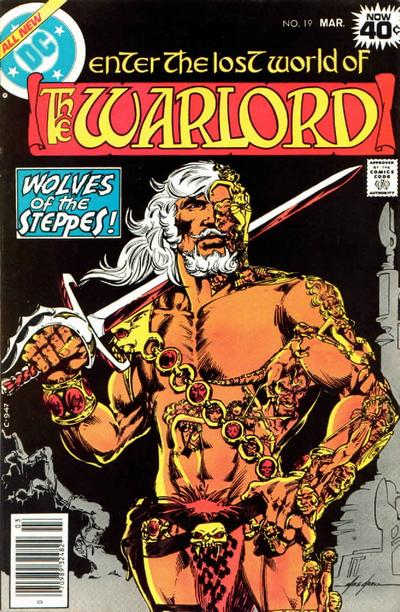 Cover for Warlord (DC, 1976 series) #19