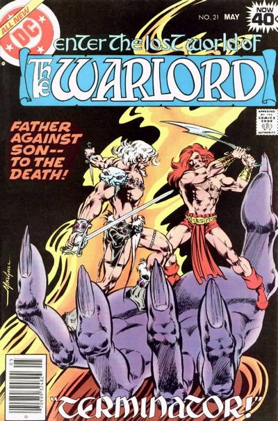Cover for Warlord (DC, 1976 series) #21
