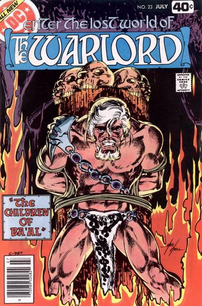 Cover for Warlord (DC, 1976 series) #23