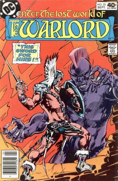 Cover for Warlord (DC, 1976 series) #25