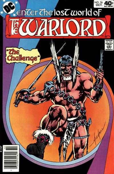 Cover for Warlord (DC, 1976 series) #26
