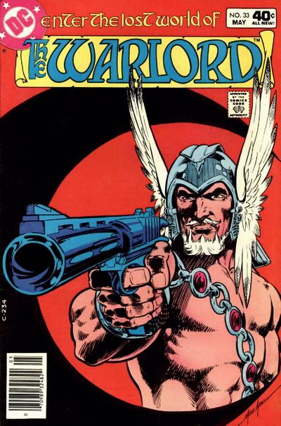 Cover for Warlord (DC, 1976 series) #33