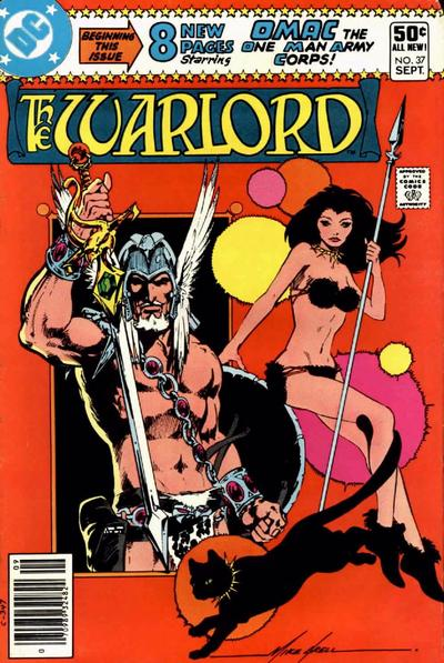 Cover for Warlord (DC, 1976 series) #37