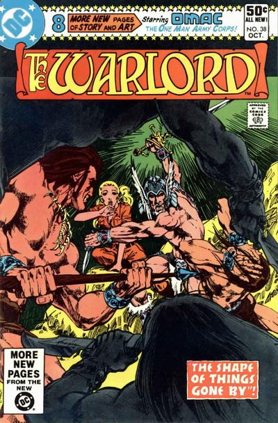 Cover for Warlord (DC, 1976 series) #38 [Direct Sales]