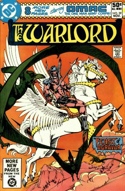 Cover for Warlord (DC, 1976 series) #39 [Direct Sales]