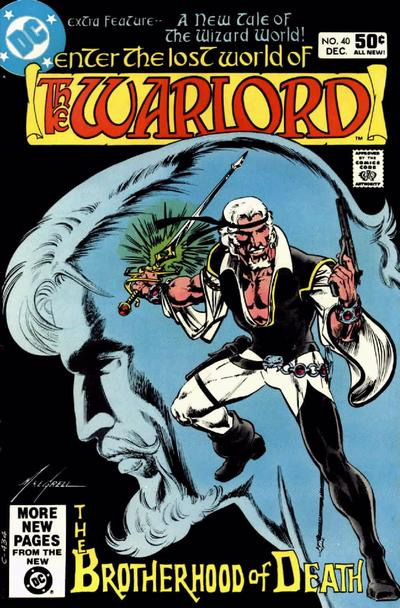 Cover for Warlord (DC, 1976 series) #40 [Direct Sales]