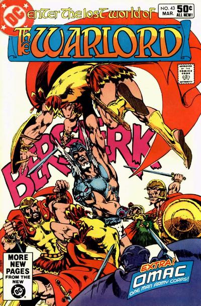 Cover for Warlord (DC, 1976 series) #43 [Direct Sales]
