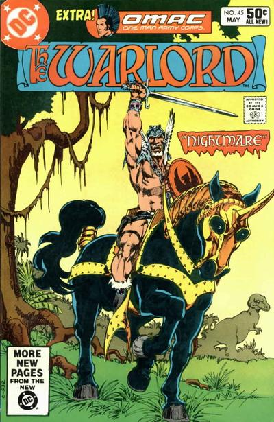 Cover for Warlord (DC, 1976 series) #45 [Direct Sales]