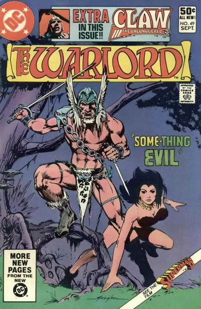 Cover for Warlord (DC, 1976 series) #49