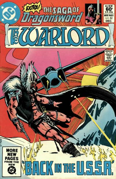 Cover for Warlord (DC, 1976 series) #52 [direct]