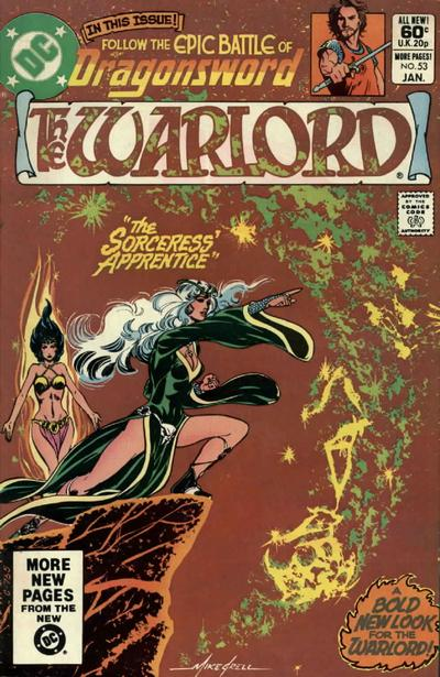 Cover for Warlord (DC, 1976 series) #53