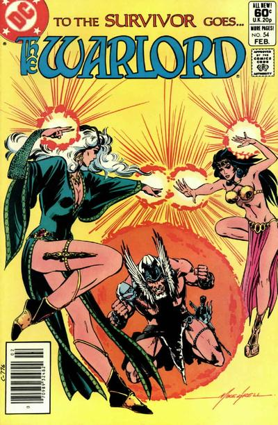 Cover for Warlord (DC, 1976 series) #54 [newsstand]