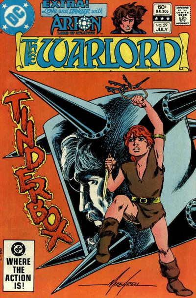 Cover for Warlord (DC, 1976 series) #59 [Direct Edition]