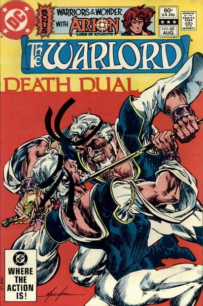 Cover for Warlord (DC, 1976 series) #60