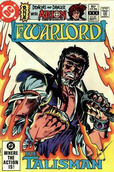 Cover for Warlord (DC, 1976 series) #61 [Direct Sales]