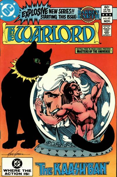 Cover for Warlord (DC, 1976 series) #63 [Direct Edition]