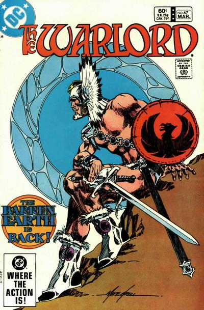 Cover for Warlord (DC, 1976 series) #67 [Direct-Sales]