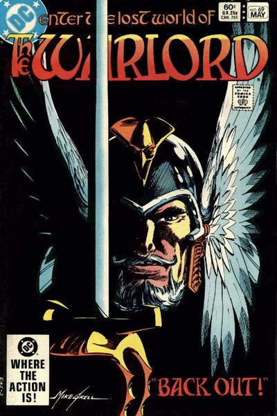 Cover for Warlord (DC, 1976 series) #69 [Direct-Sales]