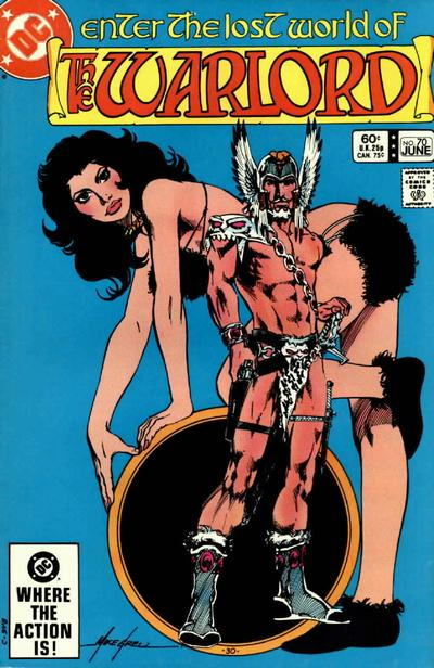 Cover for Warlord (DC, 1976 series) #70 [Direct-Sales]