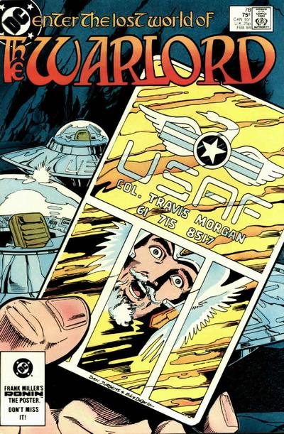 Cover for Warlord (DC, 1976 series) #78 [Direct]