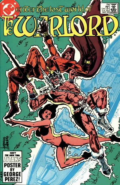 Cover for Warlord (DC, 1976 series) #79 [Direct]