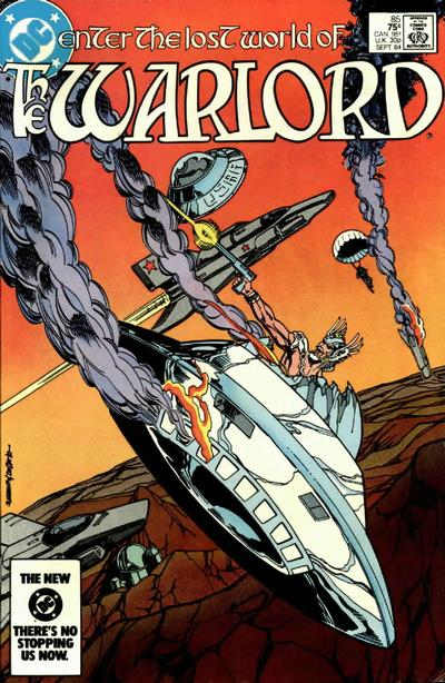 Cover for Warlord (DC, 1976 series) #85 [direct-sales]
