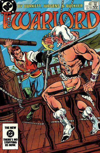 Cover for Warlord (DC, 1976 series) #87 [Newsstand]