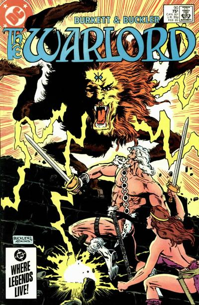 Cover for Warlord (DC, 1976 series) #90 [Direct Sales]