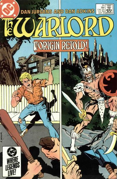 Cover for Warlord (DC, 1976 series) #91