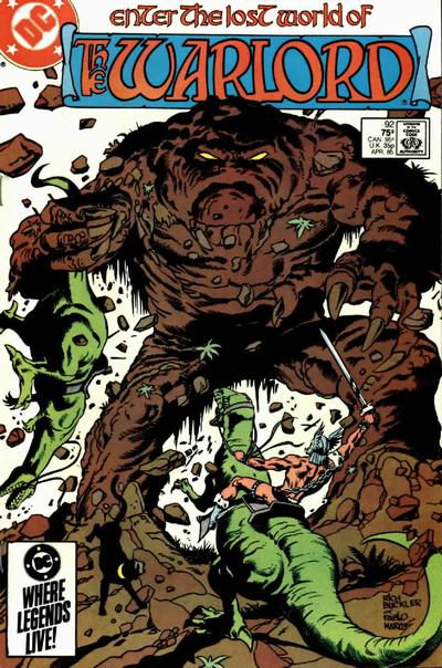 Cover for Warlord (DC, 1976 series) #92 [Direct Sales]