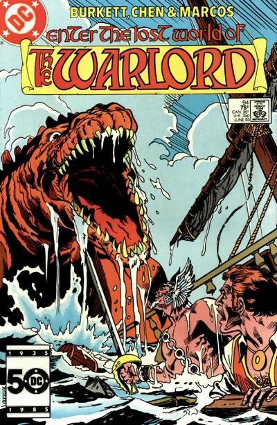 Cover for Warlord (DC, 1976 series) #94 [Direct Sales]