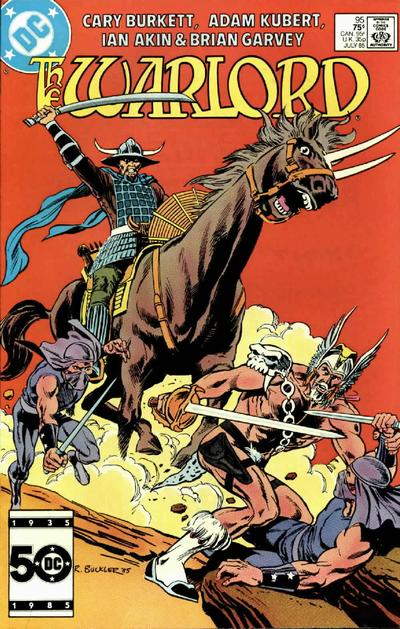 Cover for Warlord (DC, 1976 series) #95 [Direct Sales]