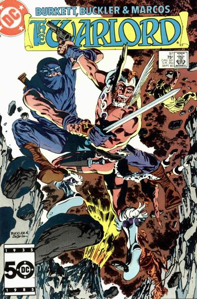 Cover for Warlord (DC, 1976 series) #97 [direct]