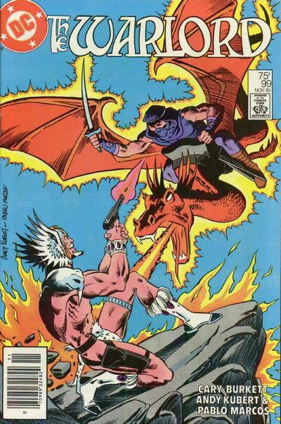 Cover for Warlord (DC, 1976 series) #99 [Direct Sales]