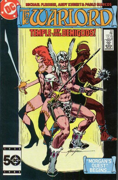 Cover for Warlord (DC, 1976 series) #101 [direct]