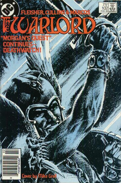 Cover for Warlord (DC, 1976 series) #102 [Direct Sales]