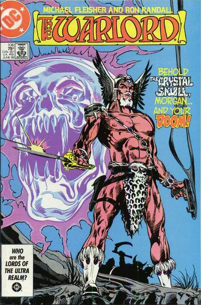 Cover for Warlord (DC, 1976 series) #106 [Direct Sales]