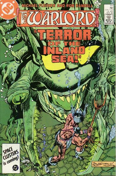 Cover for Warlord (DC, 1976 series) #111 [Direct Sales]