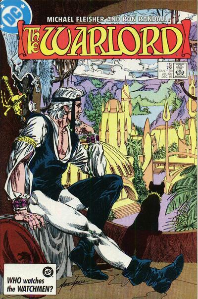 Cover for Warlord (DC, 1976 series) #112 [direct]
